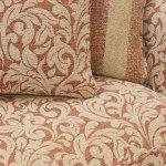 Lanesborough 4 Seater Sofa in Larkin Floral Cinnamon Fabric - Thumbnail 5