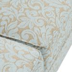 Lanesborough 4 Seater Sofa in Larkin Floral Duck Egg Fabric - Thumbnail 7