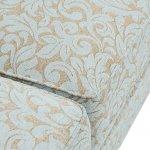 Lanesborough 4 Seater Sofa in Larkin Floral Duck Egg Fabric - Thumbnail 7