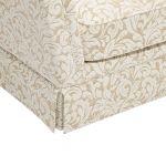 Lanesborough Armchair in Larkin Floral Beige Fabric - Thumbnail 8