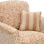 Lanesborough Armchair in Larkin Floral Cinnamon Fabric - Thumbnail 4