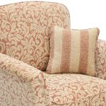 Lanesborough Armchair in Larkin Floral Cinnamon Fabric - Thumbnail 4