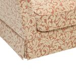 Lanesborough Armchair in Larkin Floral Cinnamon Fabric - Thumbnail 5