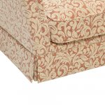 Lanesborough Armchair in Larkin Floral Cinnamon Fabric - Thumbnail 5