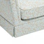 Lanesborough Armchair in Larkin Floral Duck Egg Fabric - Thumbnail 7