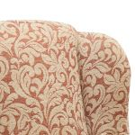 Lanesborough Wing Chair in Larkin Floral Cinnamon Fabric - Thumbnail 6