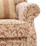 Lanesborough Wing Chair in Larkin Floral Cinnamon Fabric - Thumbnail 7
