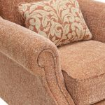 Lanesborough Wing Chair in Larkin Plain Cinnamon Fabric - Thumbnail 9