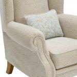 Lanesborough Wing Chair in Larkin Plain Duck Egg Fabric - Thumbnail 8