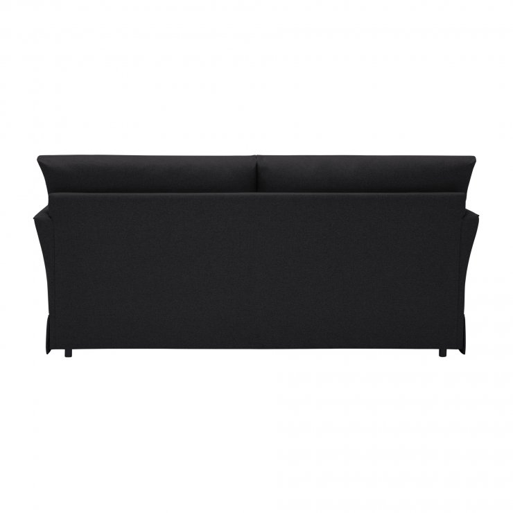 Liberty 3 Seater Sofa - Hawkshead Charcoal Fabric with Yellow Scatters