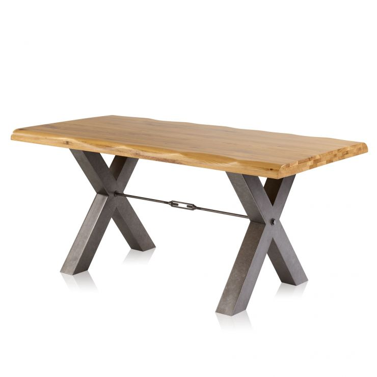 Brooklyn Living Edge 6ft Dining Table