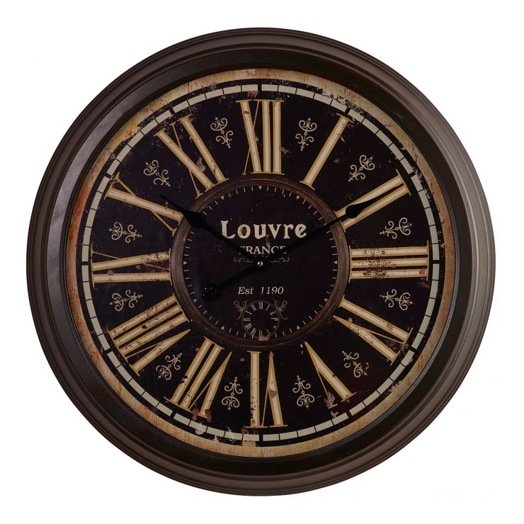 Louvre Wall Clock