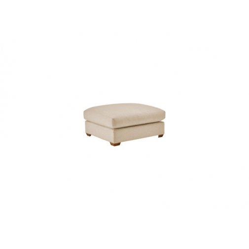 Maddox Footstool in Eleanor Beige