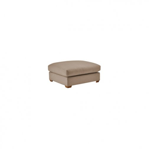 Maddox Footstool in Eleanor Mink