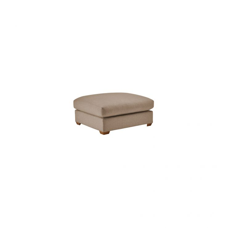 Maddox Footstool in Eleanor Mink - Image 1