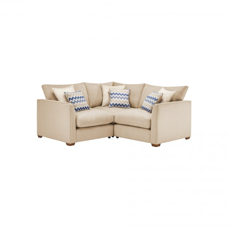 Maddox Modular Group 1 in Eleanor Beige with Cream Scatters