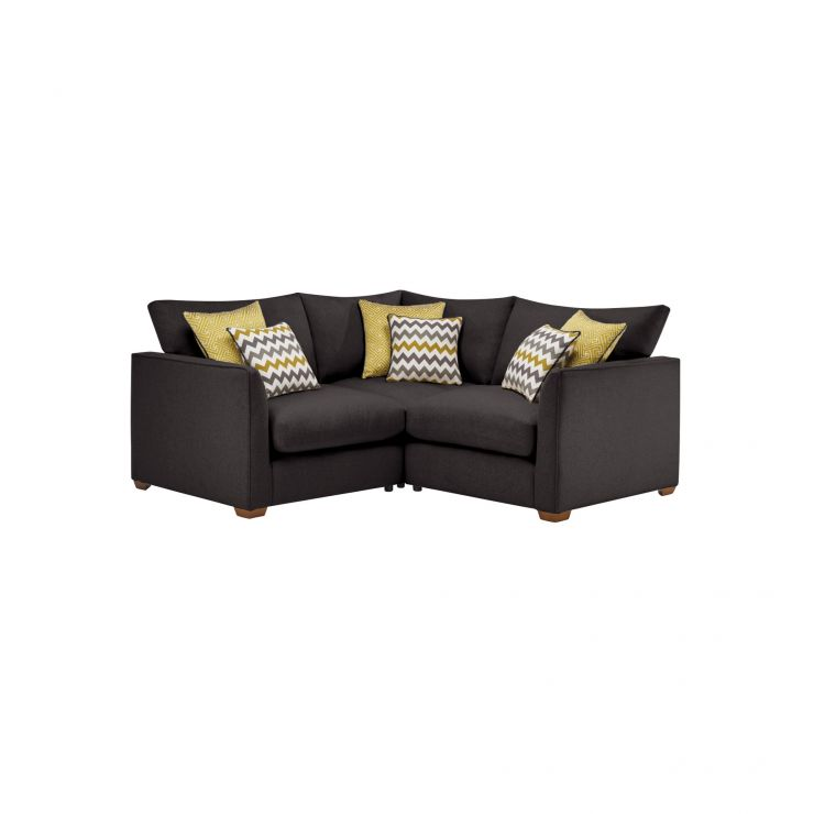 Maddox Modular Group 1 in Eleanor Charcoal with Lime Scatters - Image 1