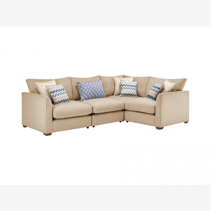 Maddox Modular Group 2 in Eleanor Beige with Cream Scatters - Image 1