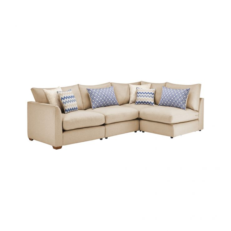 Maddox Modular Group 4 in Eleanor Beige with Cream Scatters - Image 1