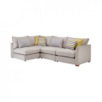 Maddox Modular Group 5 in Eleanor Silver with Lime Scatters