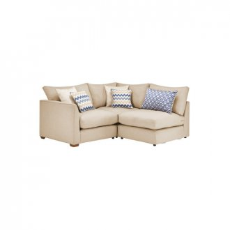 Maddox Modular Group 6 in Eleanor Beige with Cream Scatters