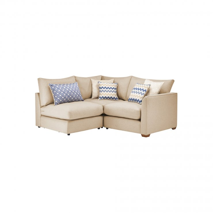 Maddox Modular Group 7 in Eleanor Beige with Cream Scatters - Image 1