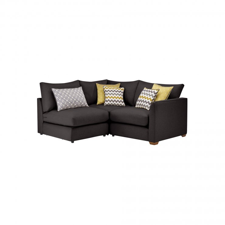 Maddox Modular Group 7 in Eleanor Charcoal with Lime Scatters - Image 1