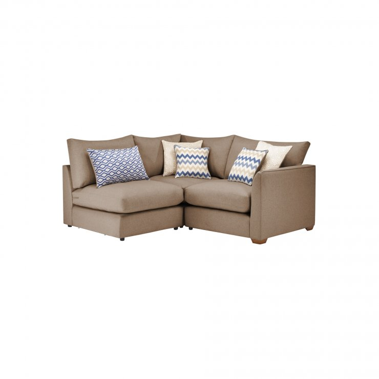 Maddox Modular Group 7 in Eleanor Mink with Cream Scatters - Image 1
