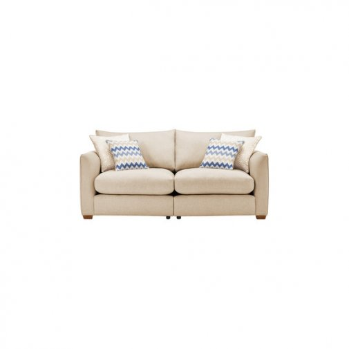 Maddox Modular Group 8 in Eleanor Beige with Cream Scatters