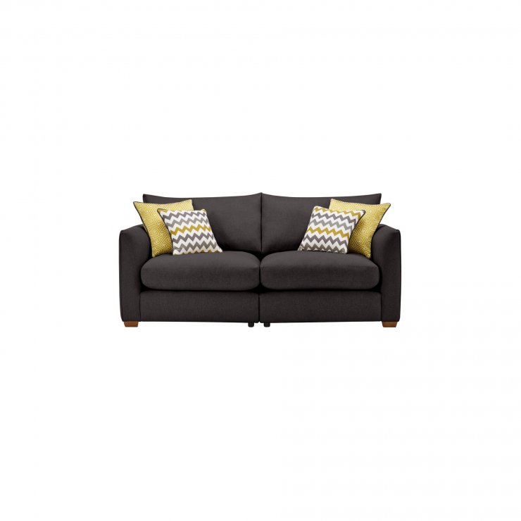 Maddox Modular Group 8 in Eleanor Charcoal with Lime Scatters - Image 1
