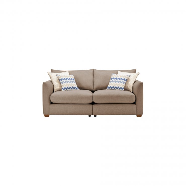 Maddox Modular Group 8 in Eleanor Mink with Cream Scatters