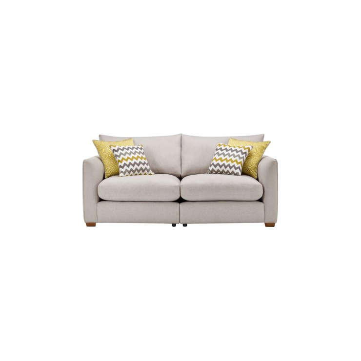 Maddox Modular Group 8 in Eleanor Silver with Lime Scatters - Image 1