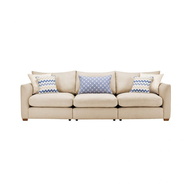 Maddox Modular Group 9 in Eleanor Beige with Cream Scatters - Image 1