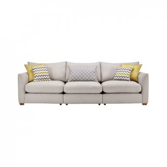Maddox Modular Group 9 in Eleanor Silver with Lime Scatters