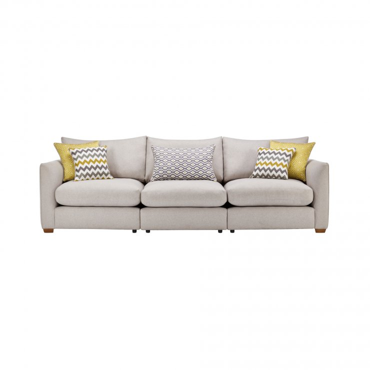 Maddox Modular Group 9 in Eleanor Silver with Lime Scatters - Image 1
