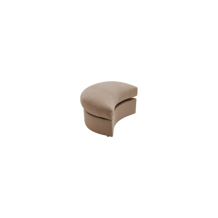 Maddox Twist Footstool in Eleanor Mink  - Image 1