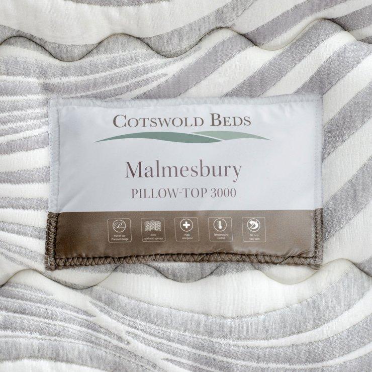 Malmesbury Pillow-top 3000 Pocket Spring Single Mattress
