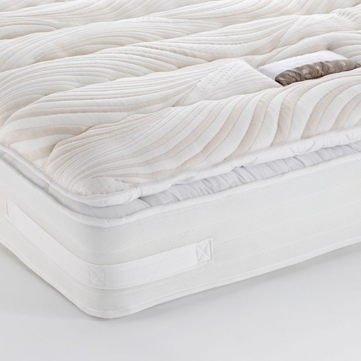 Malmesbury Pillow-top 4000 Pocket Spring Super King-size Mattress - Image 1