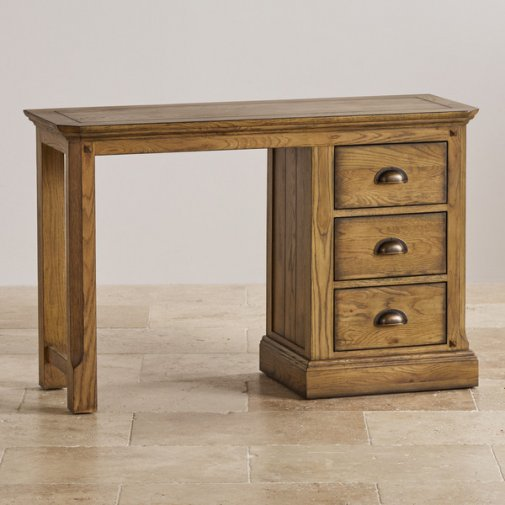 Manor House Vintage Solid Oak Dressing Table