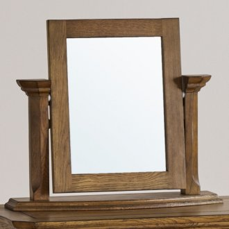 Manor House Vintage Solid Oak Dressing Table Mirror