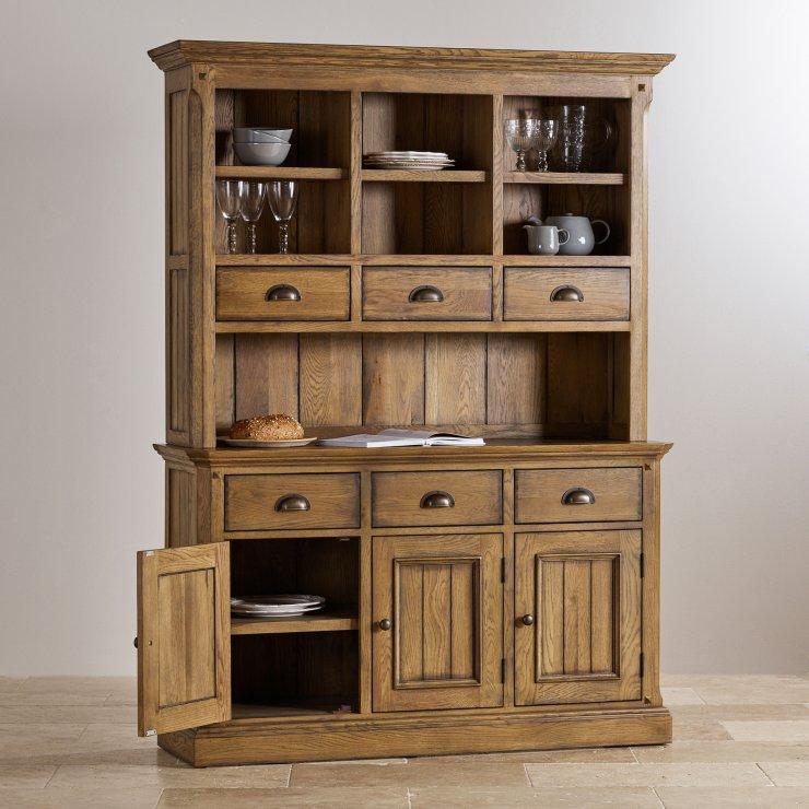 Manor House Vintage Solid Oak Large Dresser