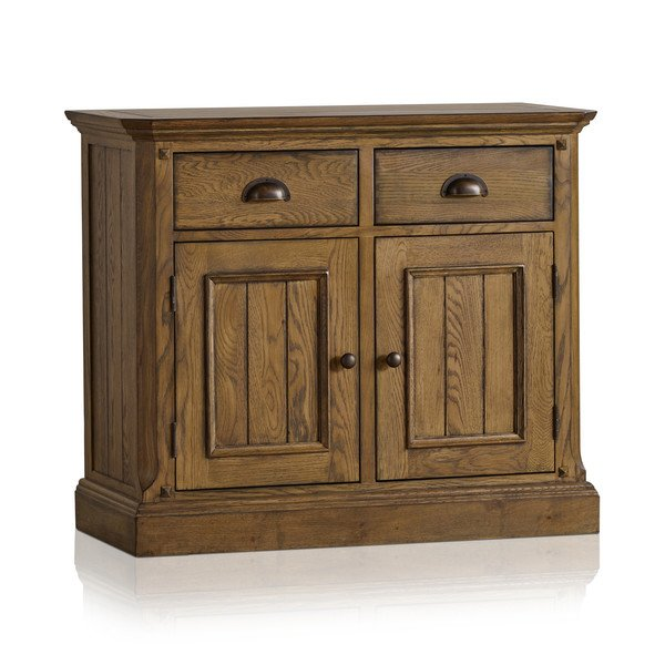 Manor House Vintage Solid Oak Small Sideboard
