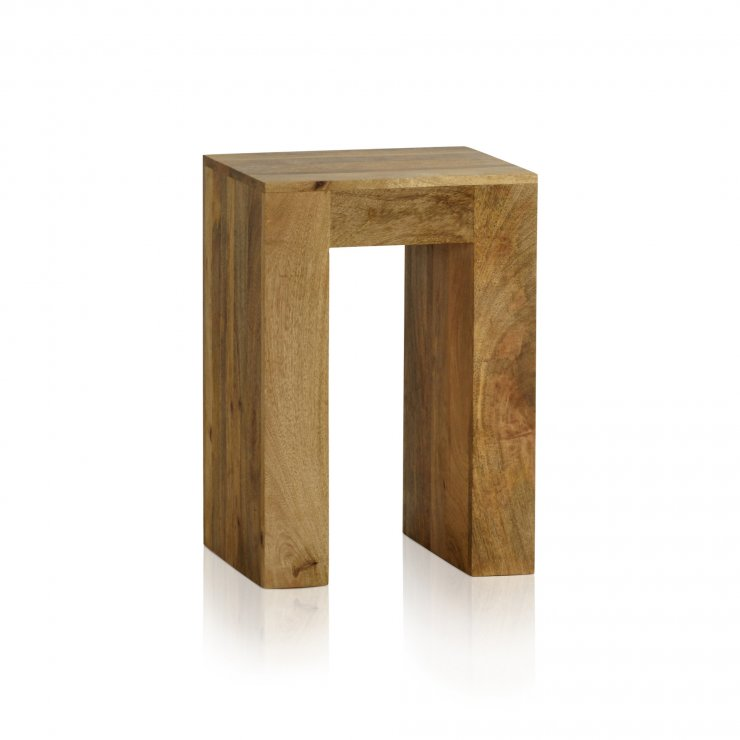 Mantis Light Lamp Table in Natural Solid Mango - Image 5