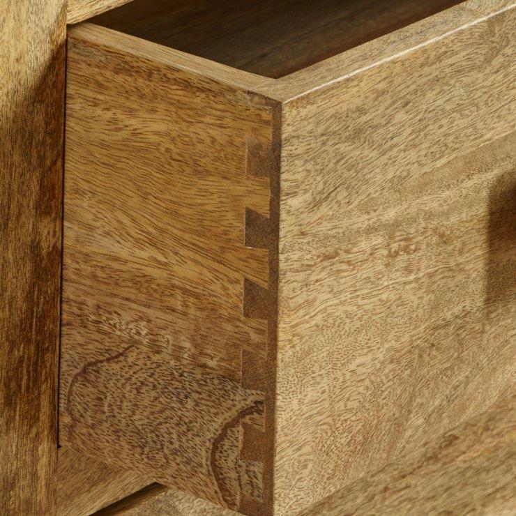 Mantis Light Natural Solid Mango 6 Drawer Storage Coffee Table