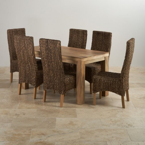 Mantis Light Three Cube Nest Of Tables In Natural Solid Mango
