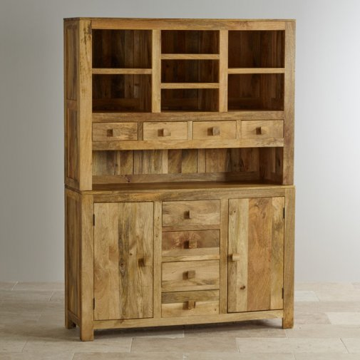 Mantis Light Natural Solid Mango Large Dresser