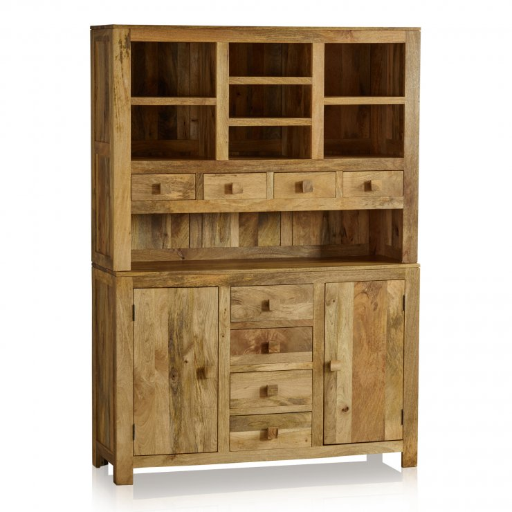 Mantis Light Natural Solid Mango Large Dresser - Image 6