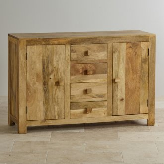 Mantis Light Natural Solid Mango Large Sideboard