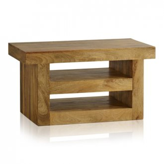 Mantis Light Natural Solid Mango Small TV Cabinet