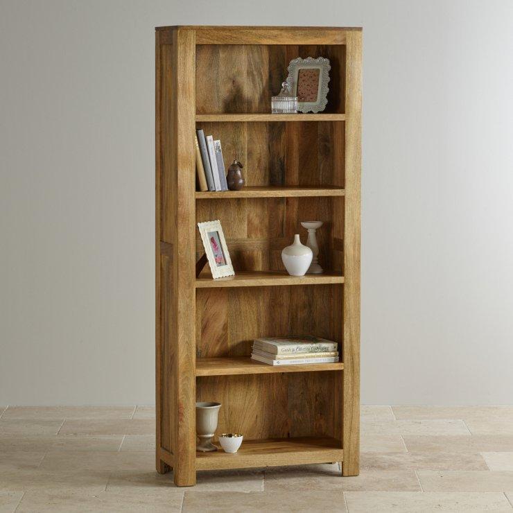 Mantis Light Natural Solid Mango Tall Bookcase